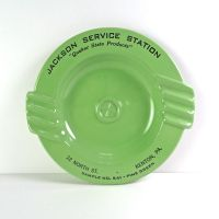 Jackson Service Station 541 Vintage Metal Ashtray