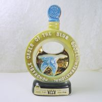 Jim Beam Whiskey Decanter Honorable Order of the Blue Goose