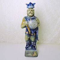 Jim Beam Whiskey Decanter 1973 Minnesota Land of Vikings