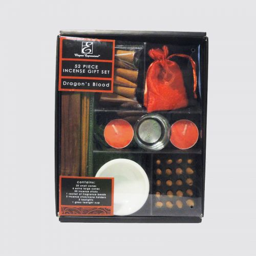 52 Piece Dragons Blood Deluxe Incense Gift Set