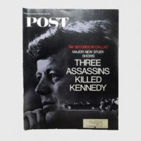 1967 The Saturday Evening Post Magazine - Three Assassins Killed Kennedy