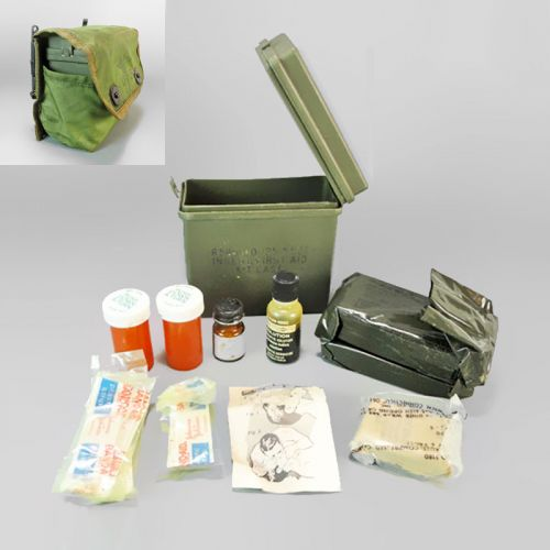 Individual Troop Personal U.S. Military First Aid Kit
