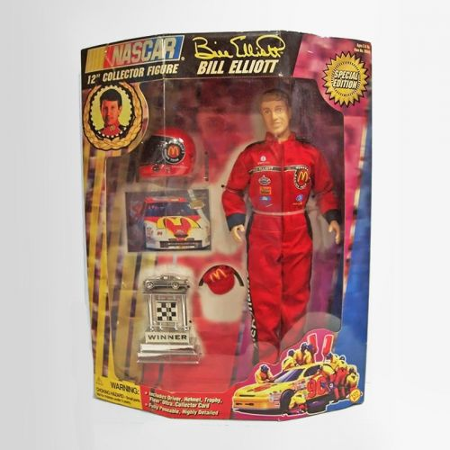 Bill Elliott Nascar driver 1997 Toy Biz Collectible