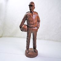Nascar Dale Earnhardt Sr Red Mill Mfg Handcrafted Figurine