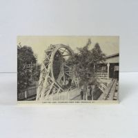 Fountaine Ferry Park Loop the Loop Vintage Photo Postcard