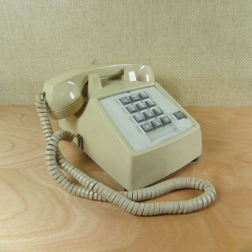 ITT Push Button Telephone with Flash Button
