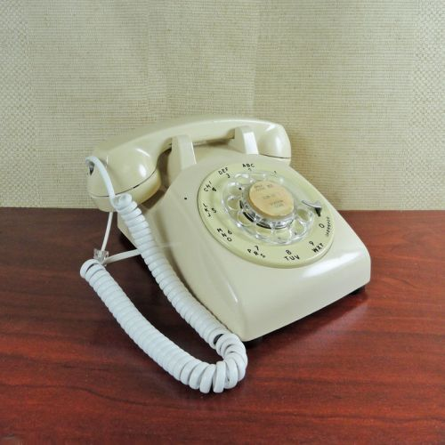 Bell Western Electric 1963 Rotary Dial Desk Telephone