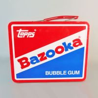 Topps Bazooka Joe Bubble Gum Vintage Metal Tin
