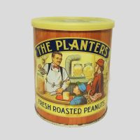 The Planters Vintage Fresh Roasted Peanuts Tin Canister