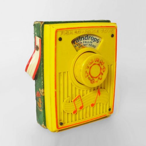 Fisher Price Toys 1972 Vintage No. 762 Pocket Radio