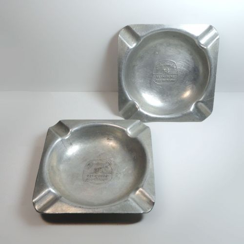 Designed in Reynolds Aluminum Vintage Ashtray