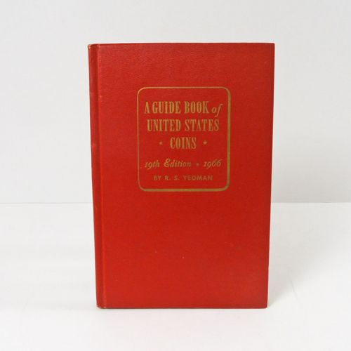 1966 Guide Book to United States Coins 19th Edition