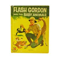 Wonder Books 1956 Flash Gordon and the Baby Animals