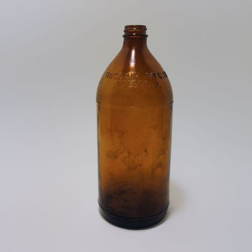 Sunrae Sinclair Mfg Vintage Brown Bleach Bottle