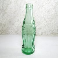 Illinois Peoria Empty 6 oz. Hobbleskirt Coke Bottle