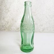 Indiana Evansville Empty 6 oz. Patent D Coke Bottle