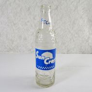 Sun Crest Beverages 10 oz. Vintage Soda Bottle #4a