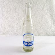 Sun Crest 10 oz. Tall Vintage Soft Drink Bottle #5