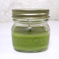 Apple Pie 3.75 oz. Scented Candle Glass Mason Jar