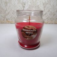 Cinnamon Spice 3 oz. Scented Candle Glass Container