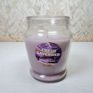 Fresh Lavender 3 oz. Scented Candle Glass Container