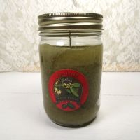 Mistletoe 8 oz. Scented Candle in Glass Jar