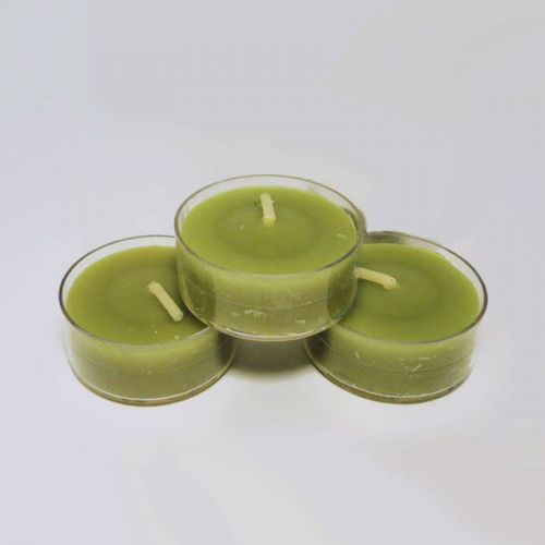 Three Grapefruit Mellon Sage Scented Tealight Candles