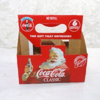 1993 Coca Cola Seasons Greetings Cardboard Carton