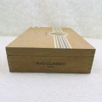 Avo Classic Robusto Dominican Republic Empty Wood Cigar Box