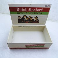 Dutch Masters Special Blunts Vintage Empty Cigar Box