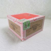 Nat Sherman Metropolitan Union Madura Empty Wood Cigar Box