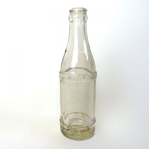 1947 Coca Cola Thick Clear Glass Bottle