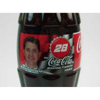 Kenny Irwin No. 28 Full 8 oz. Coke Classic Bottle