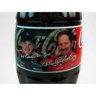 Dale Earnhardt Jr and Sr Full Nascar Coke Classic Bottle