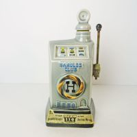 Jim Beam Decanter 1968 Harolds Club Reno Slot Machine