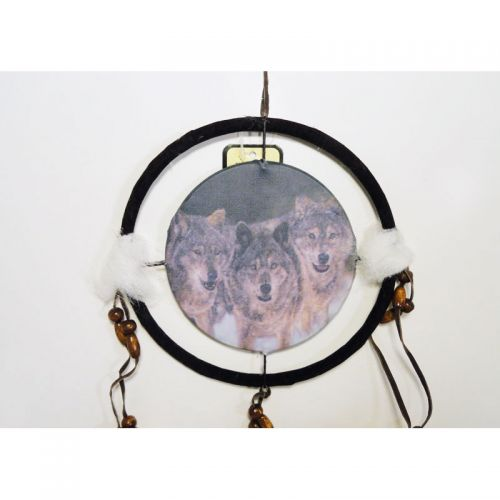 Dreamcatcher Small Pack of Wolves on the Prowl