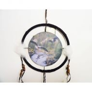 Dreamcatcher Small Eagles Soaring above Flowing River