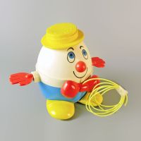 Fisher Price Toys Humpty Dumpty No. 736 Vintage Pull Toy