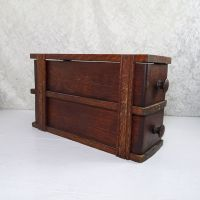 Sewing Machine Cabinet Frame with Two Drawers