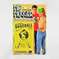 Hip Hugger Two Players Magnetic Baseball Game