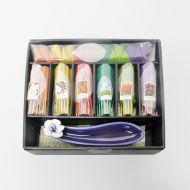 Purple Ceramic Holder Incense Gift Set