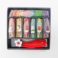 Red Ceramic Holder Incense Gift Set