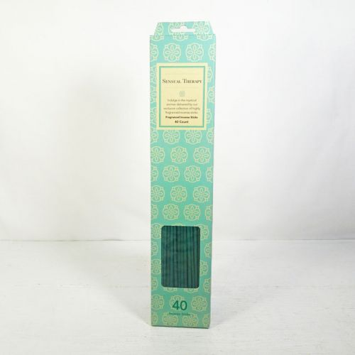 Sensual Therapy Scented Incense Sticks 40 Count