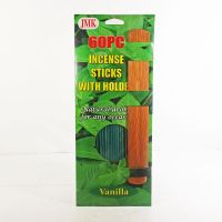 Vanilla Scented Incense Sticks with a Wood Holder