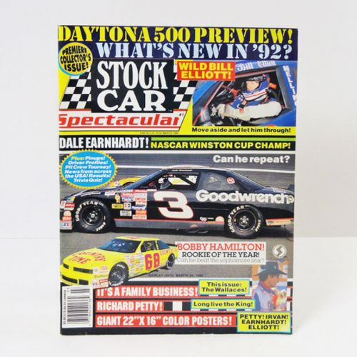 Stock Car Spectacular Racing 1992 Magazine Collectors Issue