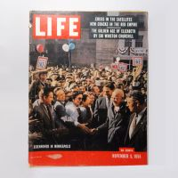 Life Magazine 11-5-1956 Eisenhower in Minneapolis
