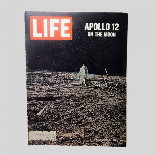 December 12, 1969 Original Entire Life Magazine - Apollo 12 on the Moon
