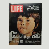 Life Magazine 10-20-1972 The Middle Age Child