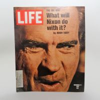 Life Magazine 11-17-1972 Richard Nixon The Big Win