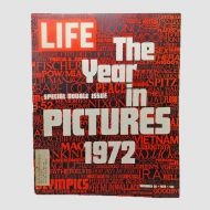 Life Magazine Double 12-29-1972 Year of Pictures